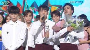 Music Bank 15/7: Beast giành chiến thắng thứ 2 cho