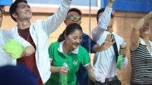 Văn Mai Hương xuất hiện giản dị trong chiến dịch bảo vệ môi trường