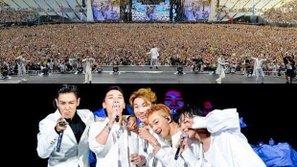 Hơn 165 nghìn fan tham dự concert kỉ niệm 10 năm ra mắt của Big Bang
