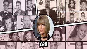 Giải mã bí ẩn...Taylor Swift với loạt sao US - UK: Khi