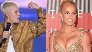 Justin Bieber - Britney Spears: Người trên đỉnh cao, kẻ dưới vực sâu