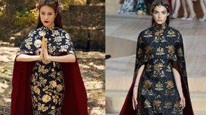 Hoàng Thùy Linh diện váy nhái trong MV