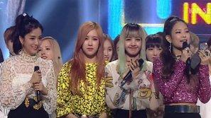 """Inkigayo 21/8: Black Pink chính thức """"xô đổ"""" kỉ lục của Miss A"""
