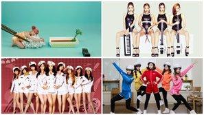 18 concept ấn tượng nhất trong những lần trở lại của girlgroup Hàn