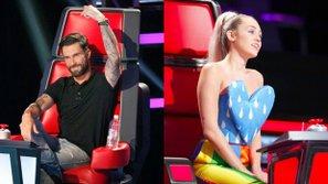 Adam Levine và Miley Cyrus bất hòa trên ghế nóng The Voice?