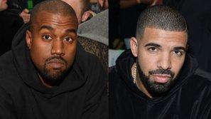 """Mặc """"kẻ thù"""" Taylor Swift chia tay người yêu, Kanye West hớn hở """"khoe"""" hợp tác với Drake"""