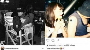 Bị hack Instagram, G-Dragon lộ ảnh thân mật cùng người mẫu Nhật