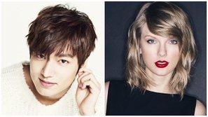 Tin đồn hài hước nhất trong năm: Lee Minho đang hẹn hò với... Taylor Swift