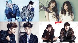 Đây là 6 bộ đôi nổi tiếng của Kpop mà bất cứ ai cũng phải biết