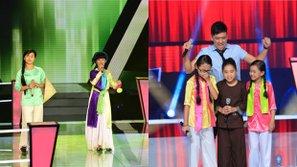 Thổn thức với những tiết mục kết hợp Bắc - Trung - Nam của 4 mùa The Voice Kids