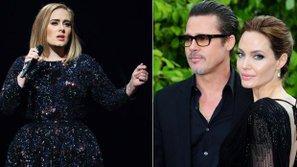 Adele dành tặng buổi hòa nhạc cho cặp đôi Brad Pitt và Angelina Jolie