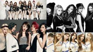 Sau 7 năm hoạt động, những nhóm nhạc nữ debut năm 2009 bây giờ ra sao?
