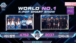 M! Countdown 29/9: Red Velvet để thua INFINITE ở phút thứ 89
