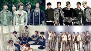 Netizen tranh cãi dữ dội với danh sách những nhóm nam từng một thời trên đỉnh vinh quang