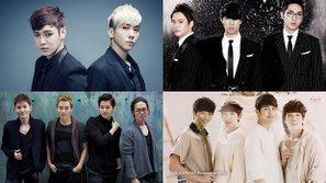 Thú vị với danh sách 7 nhóm nhạc ballad... đẹp trai nhất do netizen bình chọn