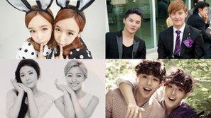 Điểm mặt những cặp song sinh nổi tiếng của làng nhạc Hàn Quốc