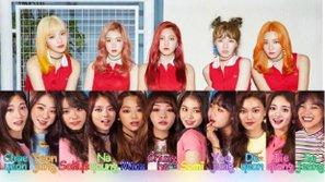 """Vừa ra mắt, MV của I.O.I đã bị tố """"nhái"""" Red Velvet"""
