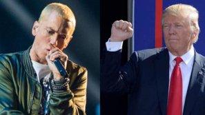 Eminem gây tranh cãi với bản rap đả kích Donald Trump mới ra mắt