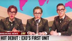 Nhóm nhỏ đầu tiên của EXO tung hoành KPOP