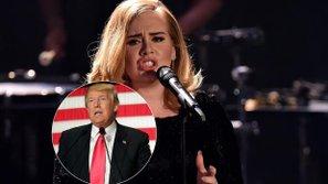 Adele khuyên fan đừng bỏ phiếu cho Donald Trump ngay trong concert