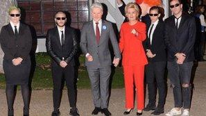 Sao Âu Mỹ-Halloween: Katy Perry hóa Hillary Clinton, Orlando Bloom sắm vai Donald Trump