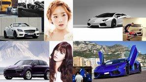 Choáng váng với bộ sưu tập siêu xe đầy giá trị của các sao Hàn