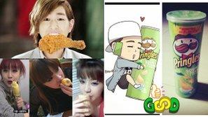 """Khi Sao Hàn là """"ứng cử viên sáng giá"""" cho các CF đồ ăn"""