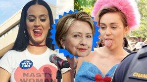 Điểm mặt những sao US-UK nổi tiếng ủng hộ bà Hillary Clinton