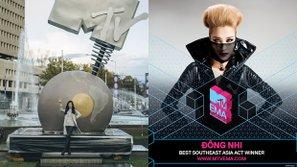 Đông Nhi được vinh danh tại MTV EMA 2016