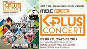 """""""Bom xịt"""" MBC Music K-Plus Concert"""