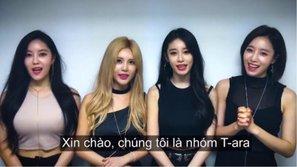T-ara lần đầu tiên tổ chức concert tại Việt Nam