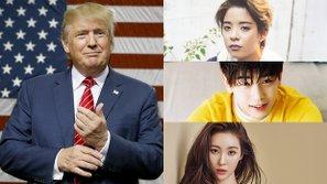 Hàng loạt sao Hàn công khai thể hiện sự thất vọng sau khi Donald Trump đắc cử Tổng thống Mỹ