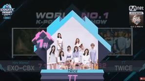 M! Countdown 11/11: TWICE đánh bại EXO-CBX, Black Pink và T-ara cùng tái xuất