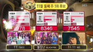 SBS Inkigayo 13/11: Ngay cả