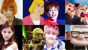 Hài hước với loạt ảnh idol Hàn và nhân vật hoạt hình giống nhau như tạc
