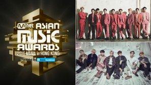 Kết quả MAMA 2016 tuần ba: A.R.M.Y đuối sức, EXO chênh lệch tỉ lệ vote gấp 30 lần so với BTS!