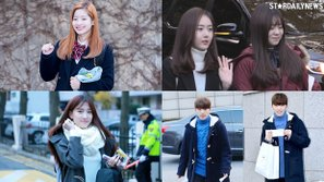 Dàn idol Hàn rạng rỡ trên đường đến tham dự kỳ thi đại học
