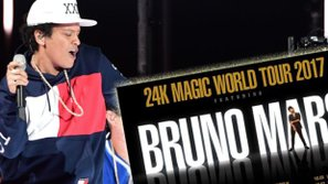 Bruno Mars bật mí về tour lưu diễn vòng quanh thế giới năm 2017