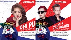 Loạt sao Việt chuẩn bị Hàn tiến tham gia WebTV Asia Awards 2016