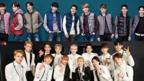 Bất ngờ trước tình cảm thân thiết rất đáng yêu giữa EXO và nhóm nhạc tân binh này