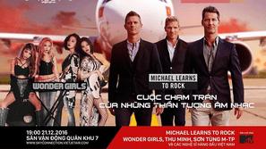 Sơn Tùng, Thu Minh đứng chung sân khấu với Michael Learns To Rock và Wonder Girls