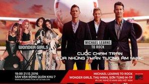 Michael Learns to Rock và Wonder Girls đến Việt Nam biểu diễn vào tháng 12