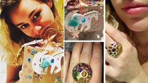 Miley Cyrus được bạn trai tặng nhẫn