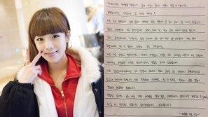 Thành viên Crayon Pop viết tâm thư cho fan sau tin kết hôn bất ngờ