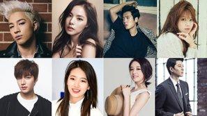 """Điểm danh những cặp tình nhân ca sĩ """"kết đôi"""" diễn viên tiêu biểu của làng giải trí Hàn"""