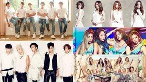 Điểm danh 22 nhóm nhạc thần tượng lâu đời nhất Hàn Quốc