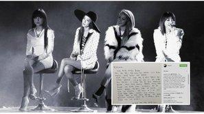 """Dara, CL viết tâm thư gửi Blackjack: """"Bốn đứa tụi mình vẫn ở đây, vẫn mãi mãi là một gia đình"""""""