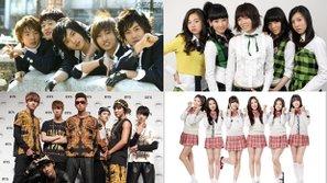 15 năm qua, bao nhiêu nhóm nhạc đã sống sót trong cuộc chiến khốc liệt tại Kpop?