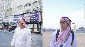 Jun Phạm (365) diện trang phục Hồi giáo dạo chơi tại Dubai