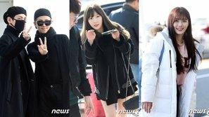 BTS cực ngầu, Taeyeon trẻ trung và dàn diễn viên nổi tiếng đã có mặt tại sân bay!